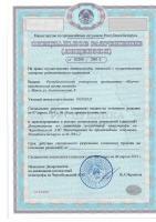 Лицензия на право осуществления деятельности, связанной с осуществлением контроля радиоактивного загрязнения